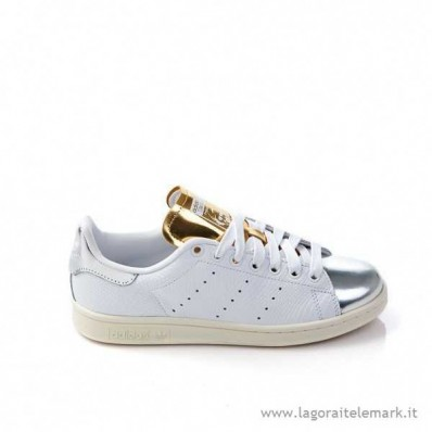 adidas stan smith donna bianche e rosse