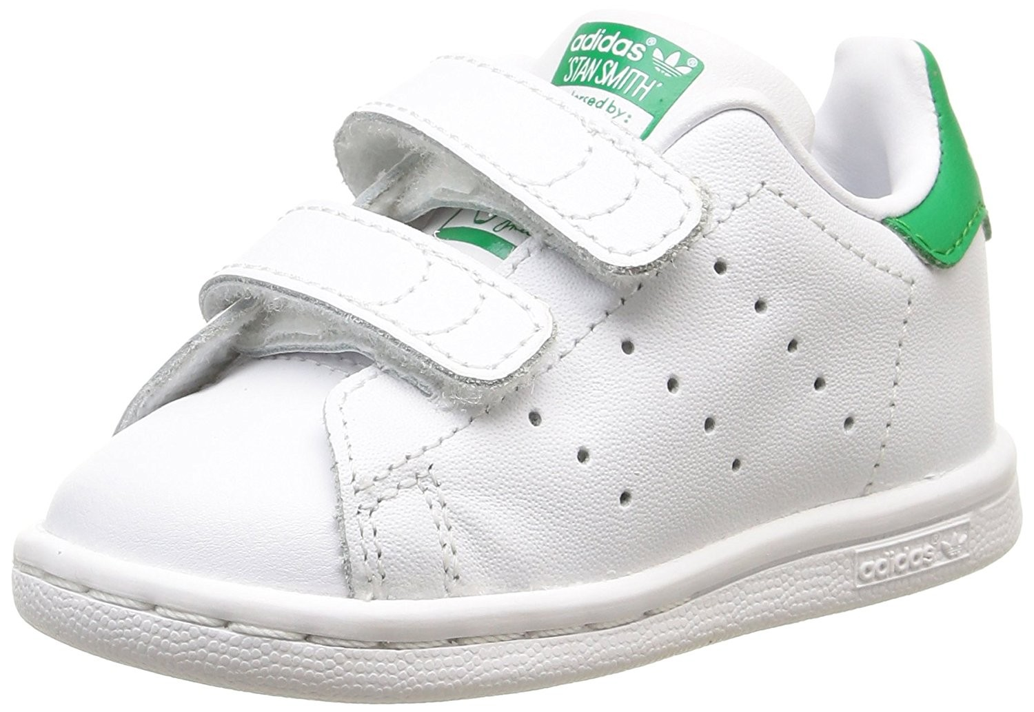 info for 338ea 45ddc adidas stan smith bambino bianche