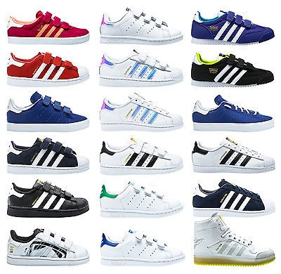 premium selection 11d2b 333b3 adidas superstar bambino 33