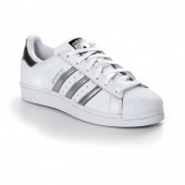 adidas superstar white donna