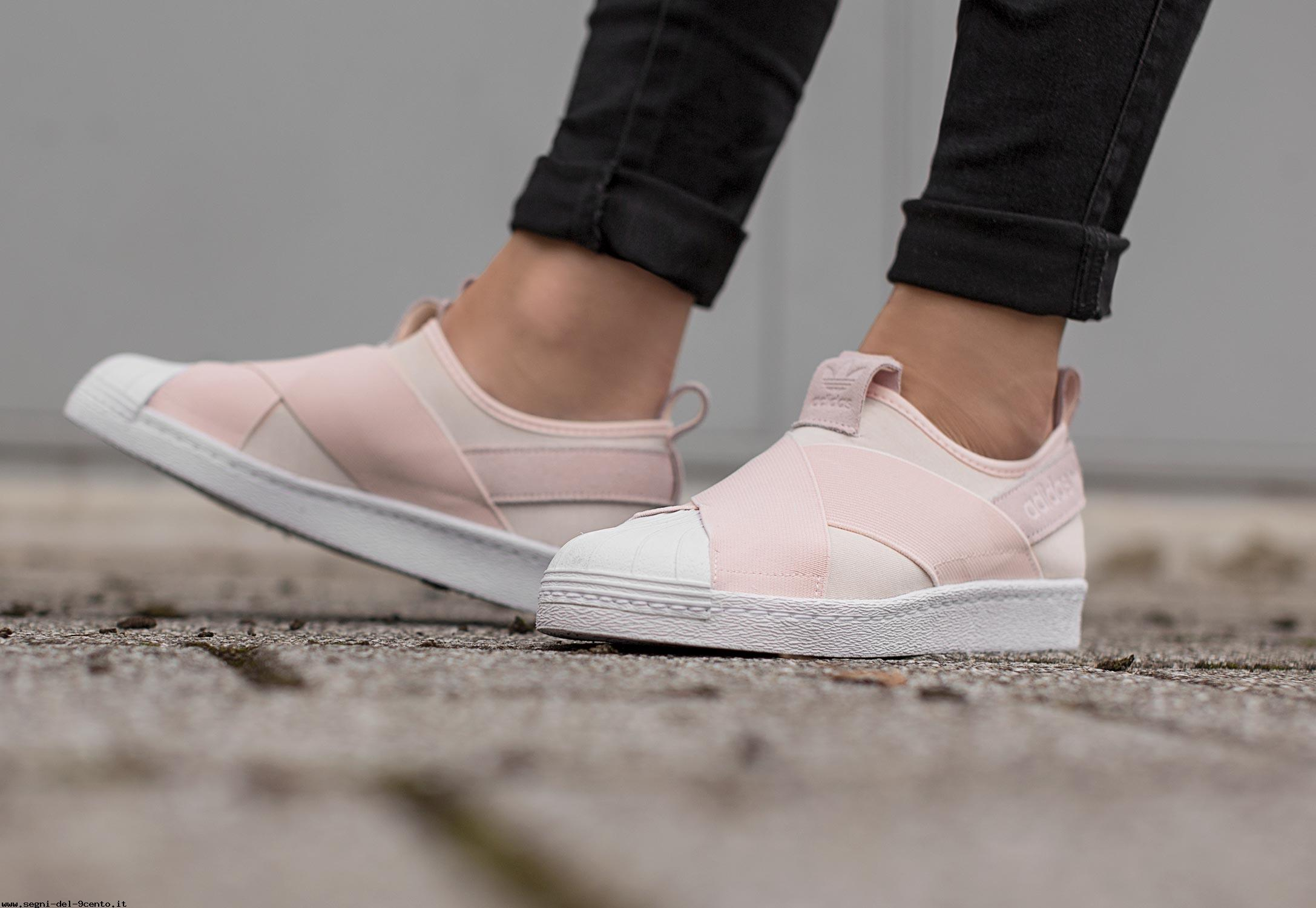 superstar slip on w scarpa