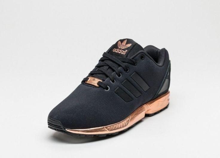 adidas shoes zx flux gold